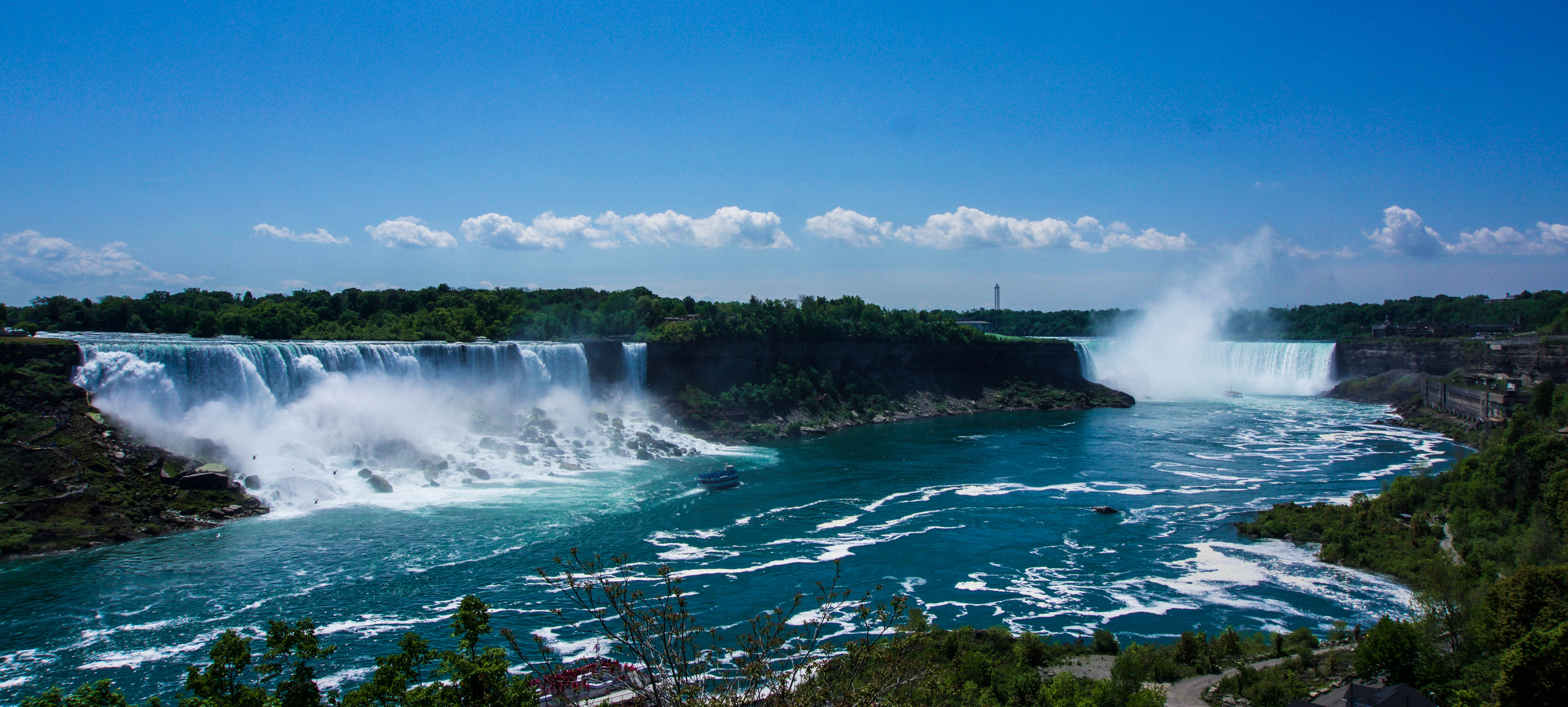 Niagara Falls on the Canadian side